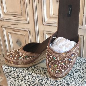 Asian Designed Espadrille Wedges